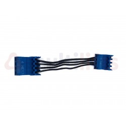 CONNECTOR - WAGO, INC. CABLE, 4WAY, 2 ANGLES, 100MM LONG, FOR ELD INDICATOR RS14 OTIS
