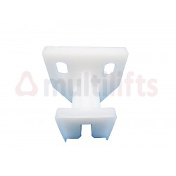 SHOE GIB FOR COUNTERWEIGHT WITHOUT GREASE NYLON 8 mm