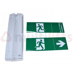 EMERGENCY LED LIGHT STAIN 3W 160LM IP65