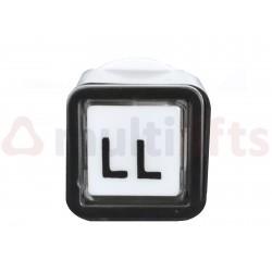 PUSHBUTTON ALJO QBP (LL) 110 V LED