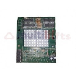 PCB DISPLAY ELE01 MOUNTED WITHOUT CASING DC12