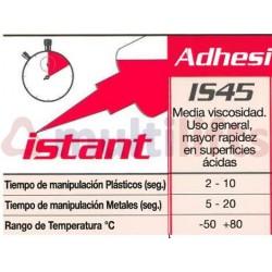 PEGAMENTO CIANOCRILATO LOXEAL INSTANT 45