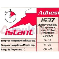 PEGAMENTO CIANOCRILATO LOXEAL INSTANT 37