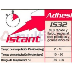 PEGAMENTO CIANOCRILATO LOXEAL INSTANT 32