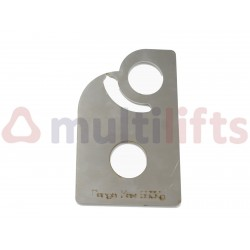 HOOK TESTER MAX WEIGHT  550 Kg