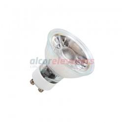 LAMPARA LED GU10 COB CRISTAL 220V 5W BLANCO CALIDO 3000K