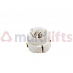 WHITE LAMP ALJO CAZOLET SERIES PD / QD 220V