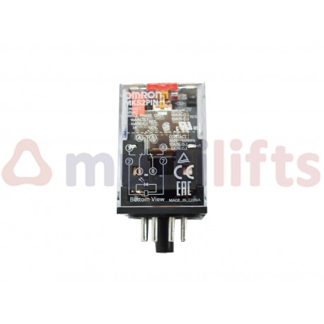 RELÉ OMRON DPDT 10A MKS2PIN AC110