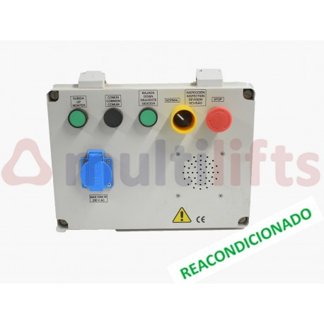 CAJA REVISION TECHO CABINA (REACONDICIONADO) 340x250x140 MM