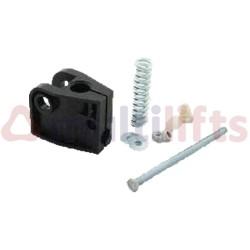 BRACKET / HOLDER - END CLAMP & FIXINGS FOR 9550CC DOOR OPERATOR OTIS