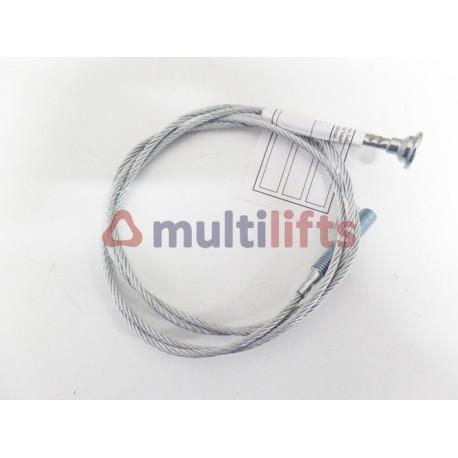 CABLE OPERADOR VVF ONE RAIL AUTUR T2H 800 MM