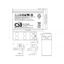 BATTERY 5S1P GPHAA 2200 CC CAB
