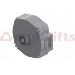 FERMATOR IP54 MOTOR WITH ENCODER AND POLY-V PINION WITH 6 CHANNELS