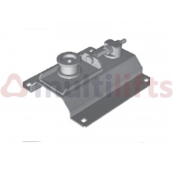 TENSIONER ASSEMBLY FERMATOR PULLEY FORWARD TELESCOPIC DOOR 2 LEAVES SADDLE 70MM