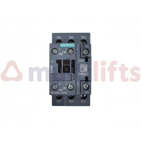 CONTACTOR SIEMENS AC3 12A 5.5KW 110VCA 1NO 1NC