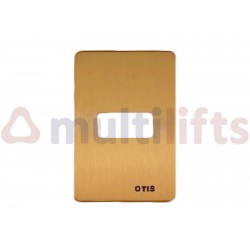 FACE PLATE - FOR SINGLE HALL PUSH BUTTON TYPE 7069 F0A147ACJ6