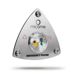 PUSH BUTTON PHONE CABIN MICOME 2015