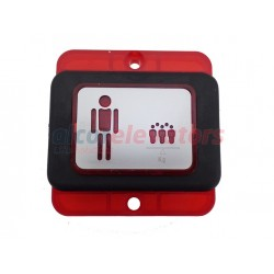 DISPLAY WEIGHT LOAD MP P-IND-002