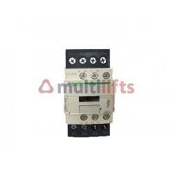 CONTACTOR SCHNEIDER 4P 32A AC1 1NA/1NC 110VAC LC1DT32F7